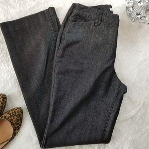 Chico's Platinum Black Jean size 0.5 (Small 6)